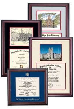 How to Display Your College Degree