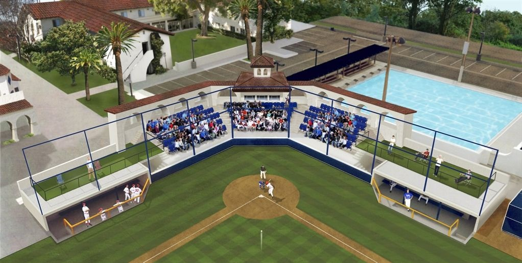 What is necessary for a baseball dugout furnishing plan